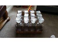 Job lot of 12 Decanter bottles