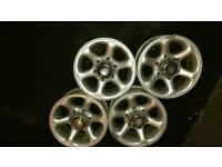 """Ford Maverick 15"""" Alloy Wheels 4x4"""