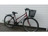 LADIES BIKE WITH BASKET- SMALL SIZE