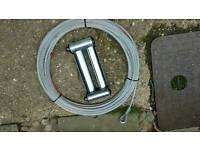 Winch cable Winch rollers