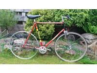 Vintage Raleigh road bike 531..