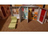 Doll house barbie
