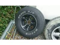 Suzuki Vitara fat boy alloy wheel
