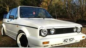 1991 VW Volkswagen Golf MK1 Cabriolet Automatic