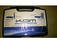 KAM Professional wireless microphone system