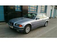 BMW E36 325I SAMOA BLUE COUPE SE ORIGINAL EXAMPLE LOTS OF HISTORY DRIFT PROJECT