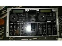 NUMARK ICDMIX3 DUAL MP3/CD PERFORMANCE SYSTEM WITH IPOD DOC