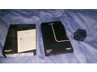 Amazon Kindle Paperwhite + Amazon Leather Cover Black (Onyx Black) + Amazon Charger (ALL NEW, BOXED)