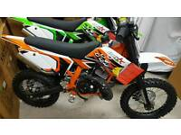 "14"" IMR racing 50cc kids mx bike.. ktm engine...cancelled order last 1 left"