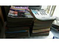 Music Tech magazines & discs