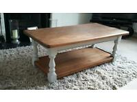 Stunning solid wood coffee table