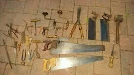 Antique tools carpentry vintage