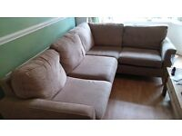 Corner Sofa Excellent Condition. 2yo, from pet/smoke free home.