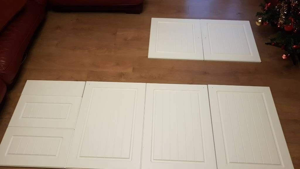 B Amp Q Chilton White Country Style Kitchen Doors In