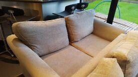 Two Marks and Spencer 3 seater settees.