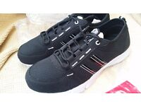 Cotton Traders Trainers brand new black size 9
