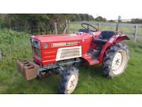 Yanmar YM1610D Compact Tractor 20hp 4WD