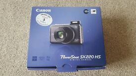 Canon Power shot SX220 HS Digital Camera in Silver