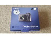 Canon Power shot SX220 HS Digital Camera in Silver