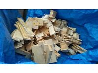 FIRE WOOD! Already cut down. Good quality pallet wood, burns really well