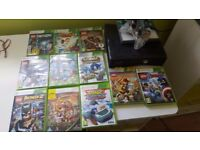 X box 360, lego dimensions plus 33 figures and 10 other games
