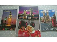 London special Pink Floyd postcard tourist pack!
