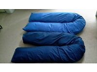 Two 10ft U-shaped Cushions with Covers. Never used