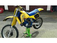 1987 RM 125 2 stroke for sale