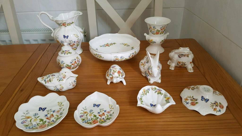 Aynsley China Cottage Garden In South Shields Tyne And Wear