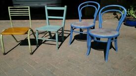 Four 'project' chairs