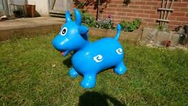 Bouncing Bull bouncer toy