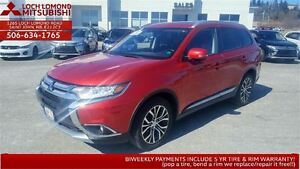 2016 Mitsubishi Outlander GT four wheel drive - LOADED!!