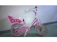 Bike for a little girl.