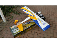 FMS Suprez 1200mm wing span RC trainer foam plane.