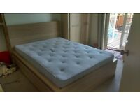 Ikea standard double bed - Perfect condition - PRICE DROP