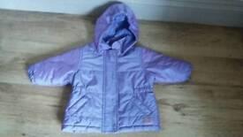 Purple Next Coat 6-9m
