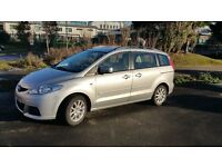 Mazda 5, 59 reg, silver, 43k miles, excellent condition, 1 year MOT, just serviced, Mazda history