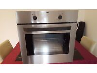 Zanussi ZOB150X Electric Single Oven - Built-In - 59.4 cm - 56 litre - Stainless