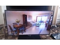"""SAMSUNG 40"""" LED TV SMART/3D/FREEVIEW HD/FREESAT/WIFI/MEDIA PLAYER/VOICE CONTROL AS NEW NO OFFERS"""