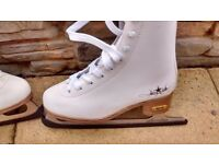 sfr ice skates size 3 new condition