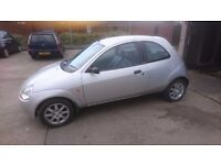 Limited edition Ford Ka 1.3 in silver full MOT no advisory's
