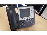 Cisco 7945 CP-7945G SCCP IP Colour VoIP Phone