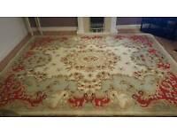 Large woolen Indian Antique rug
