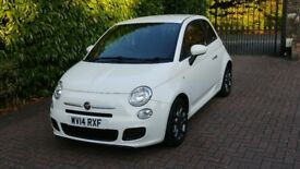 Fiat 500 S low mileage, service history, immaculate condition