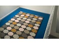 IKEA Rug 165cm x 133cm patterned indoor floor
