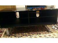 "Alphason ACB1000 Black TV Unit Cabinet up to 50"" TVs"
