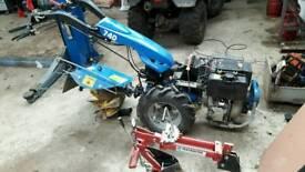 Diesel tractor two wheel