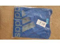 Adidas mens T-shirt blue size M