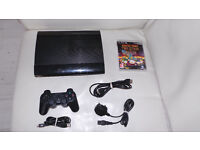 Sony Playstation 3 Super Slim 150gb PS3 With Game