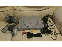 Playstation console and accessories